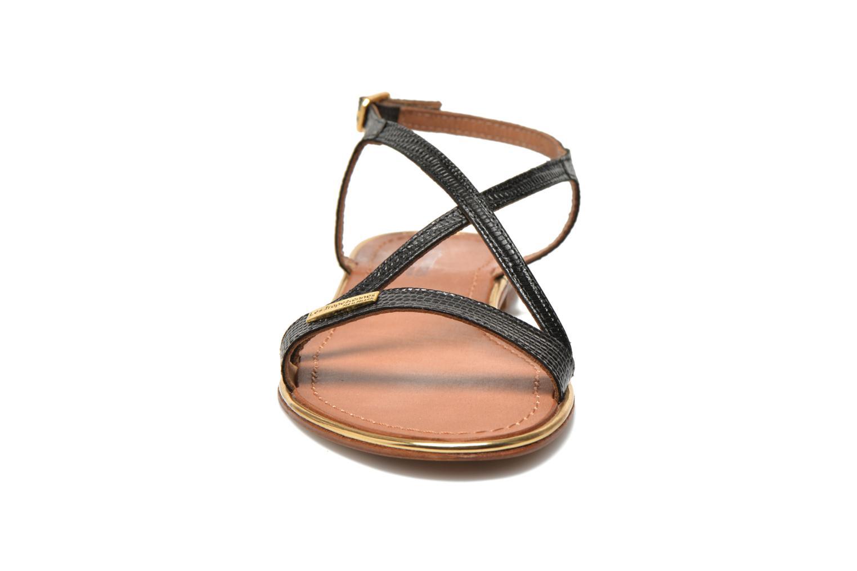 Sandales et nu-pieds Les Tropéziennes par M Belarbi Basilic Noir vue portées chaussures