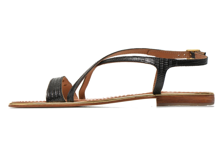 Sandales et nu-pieds Les Tropéziennes par M Belarbi Basilic Noir vue face