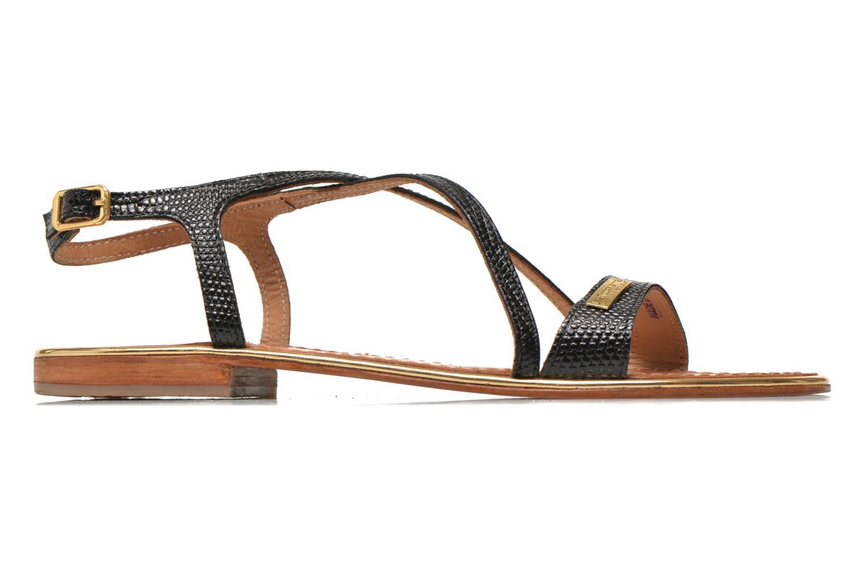 Sandales et nu-pieds Les Tropéziennes par M Belarbi Basilic Noir vue derrière