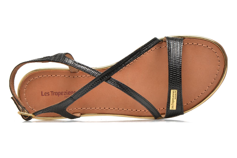 Sandales et nu-pieds Les Tropéziennes par M Belarbi Basilic Noir vue gauche