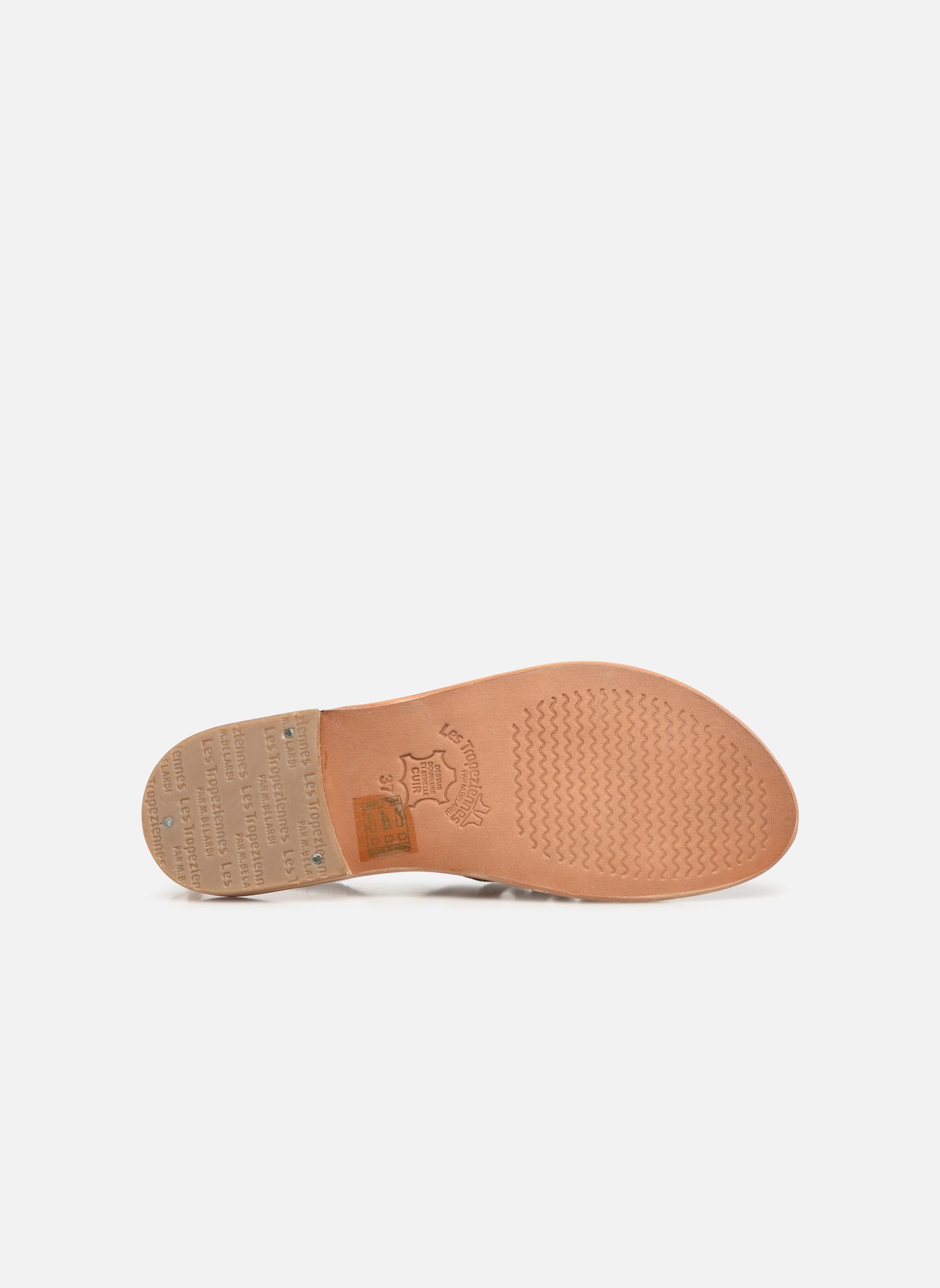 Sandals Les Tropéziennes par M Belarbi Herbier Grey view from above