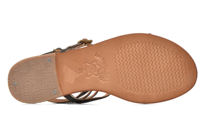 Sandales et nu-pieds Les Tropéziennes par M Belarbi Bristol Noir vue haut