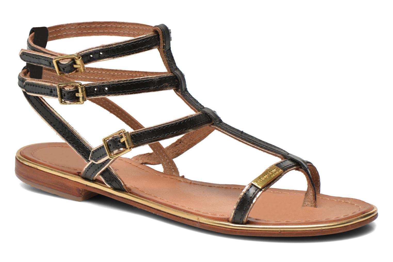 Sandales et nu-pieds Les Tropéziennes par M Belarbi Bristol Noir vue détail/paire
