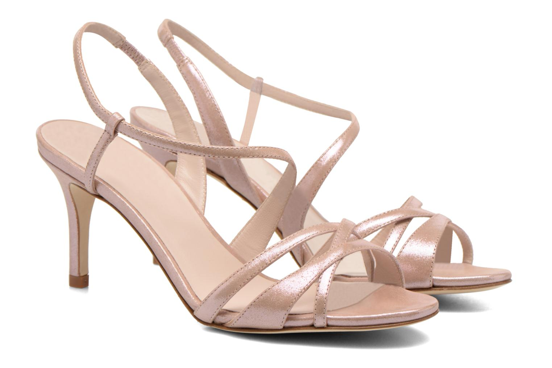 Sandales et nu-pieds L.K. Bennett Lourdes Rose vue 3/4
