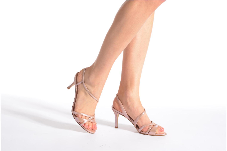 Sandales et nu-pieds L.K. Bennett Lourdes Rose vue bas / vue portée sac