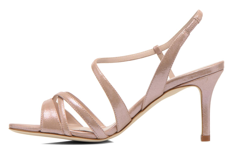 Sandales et nu-pieds L.K. Bennett Lourdes Rose vue face
