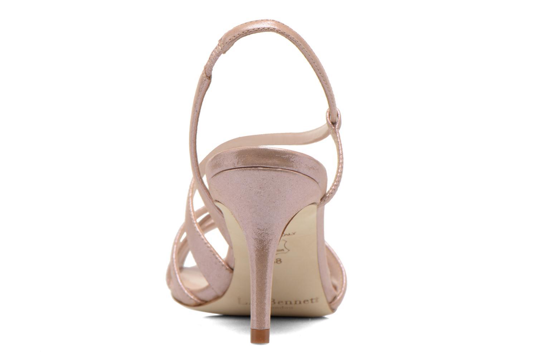 Sandales et nu-pieds L.K. Bennett Lourdes Rose vue droite