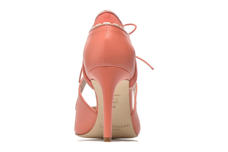 Sandales et nu-pieds L.K. Bennett Miki Orange vue droite