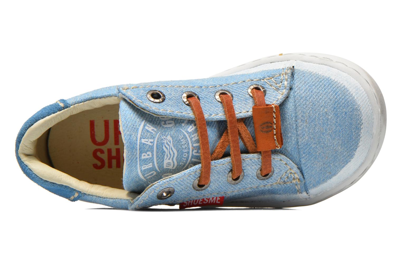 Baskets Shoesme Urban Bleu vue gauche