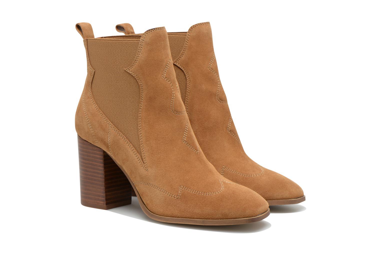 Boots en enkellaarsjes Made by SARENZA Western Fever #8 Bruin achterkant