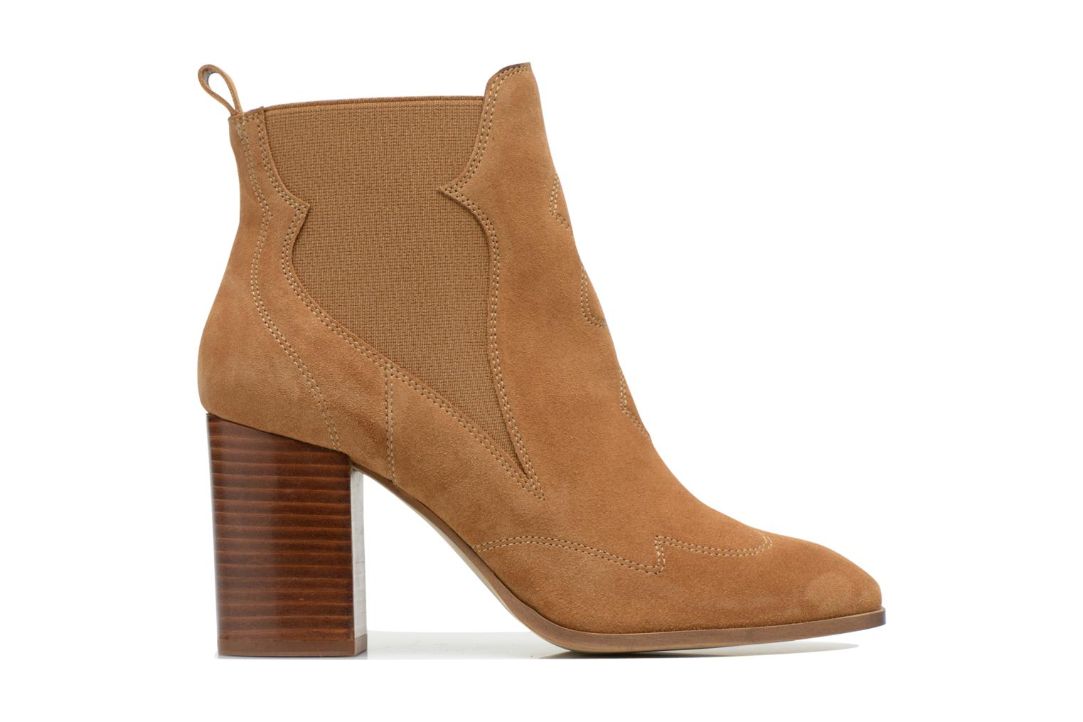 Bottines et boots Made by SARENZA Western Fever #8 Marron vue détail/paire
