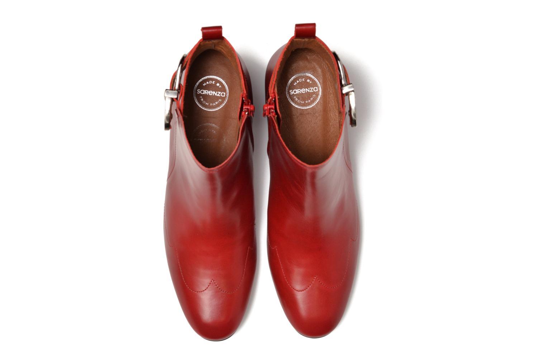 Bottines et boots Made by SARENZA Toundra Girl Bottines à Talons #9 Rouge vue portées chaussures