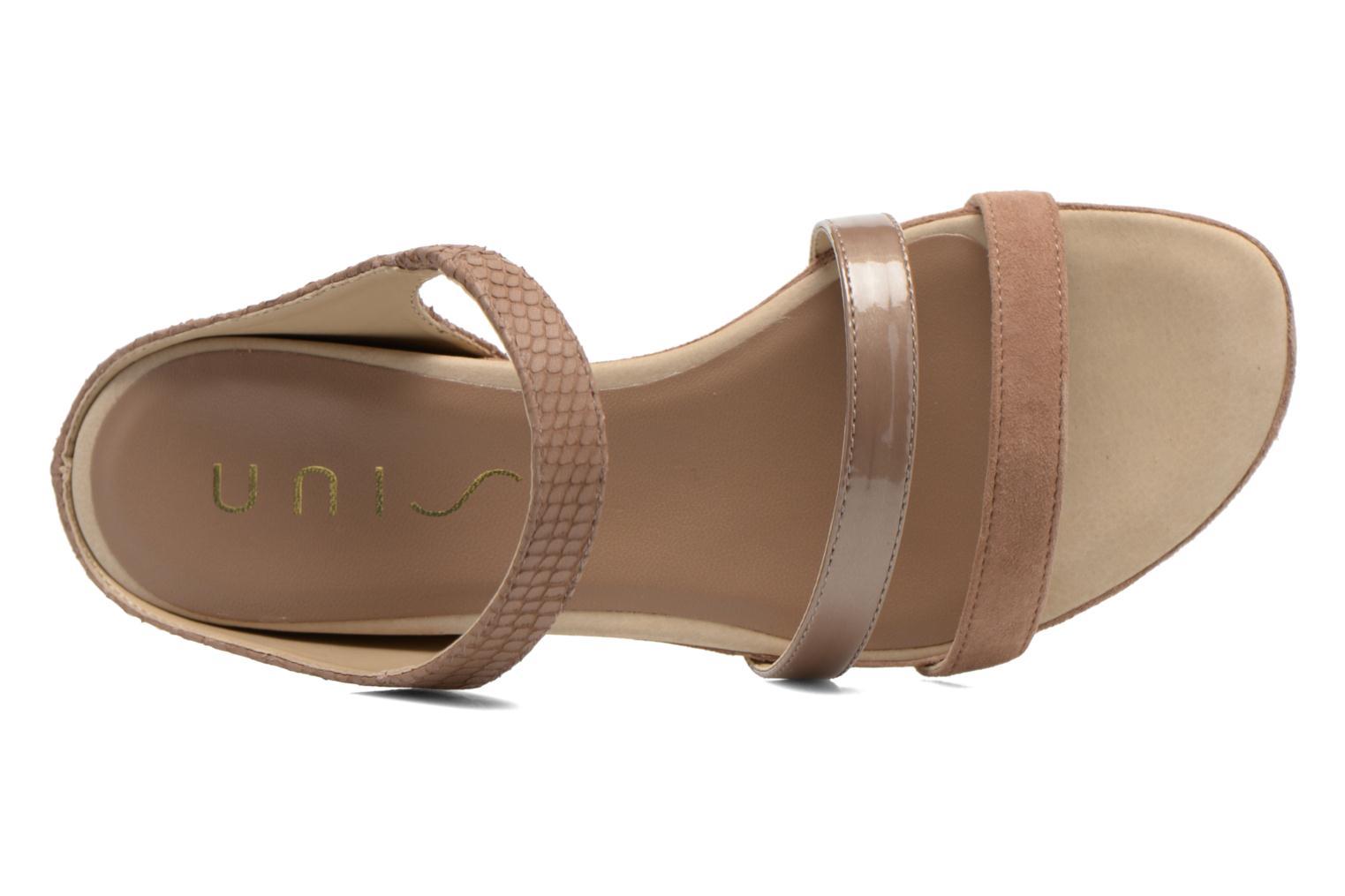 Mules & clogs Unisa Alicu Beige view from the left