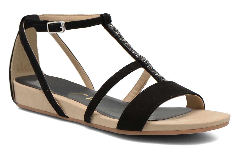 Sandales et nu-pieds Unisa Aniol Noir vue détail/paire