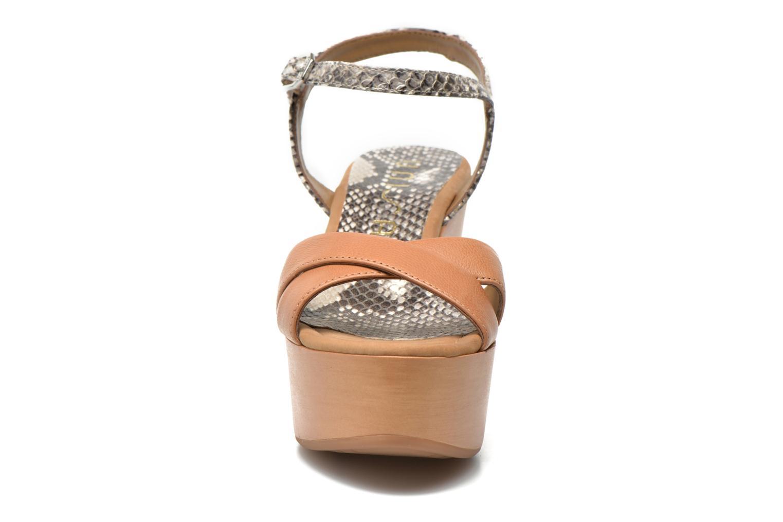 Sandales et nu-pieds Unisa Rena Multicolore vue portées chaussures