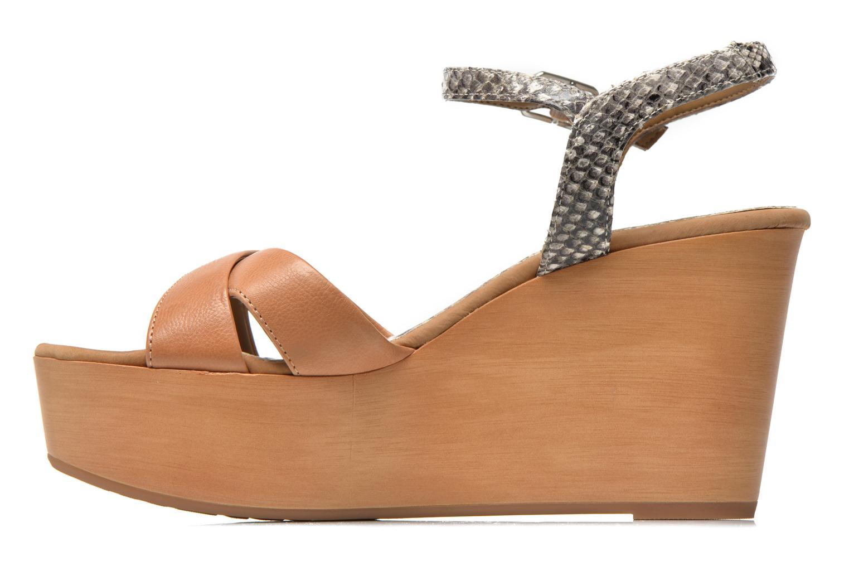 Sandales et nu-pieds Unisa Rena Multicolore vue face