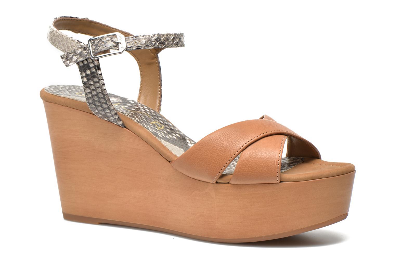 Sandales et nu-pieds Unisa Rena Multicolore vue détail/paire