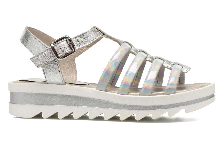 Sandals Unisa Tresor Silver back view