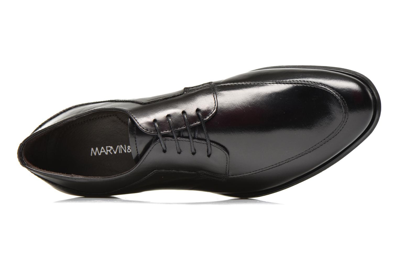 Chaussures à lacets Marvin&Co Narciso Noir vue gauche
