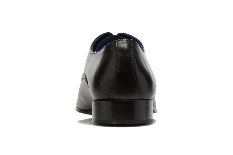 Zapatos con cordones Marvin&Co Nagoli Negro vista lateral derecha