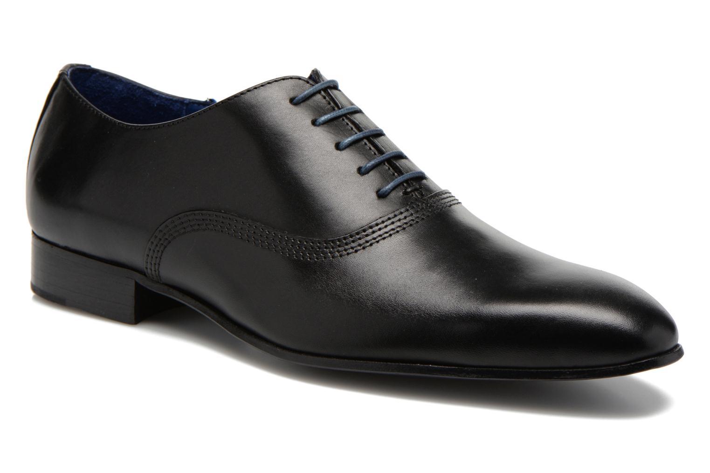 Zapatos con cordones Marvin&Co Nagoli Negro vista de detalle / par