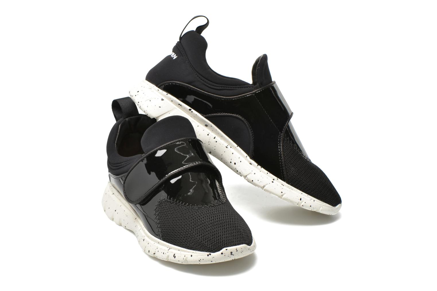 Baskets Carven Running Noir vue 3/4