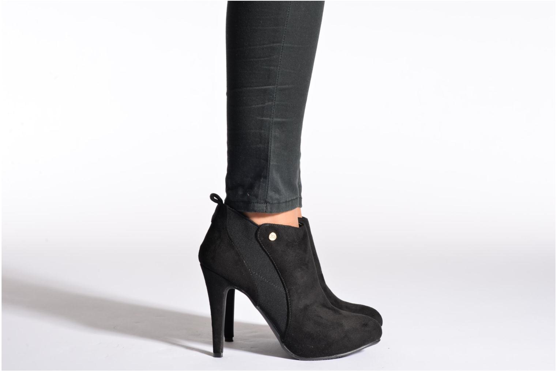 Bottines et boots Xti Nago Noir vue bas / vue portée sac