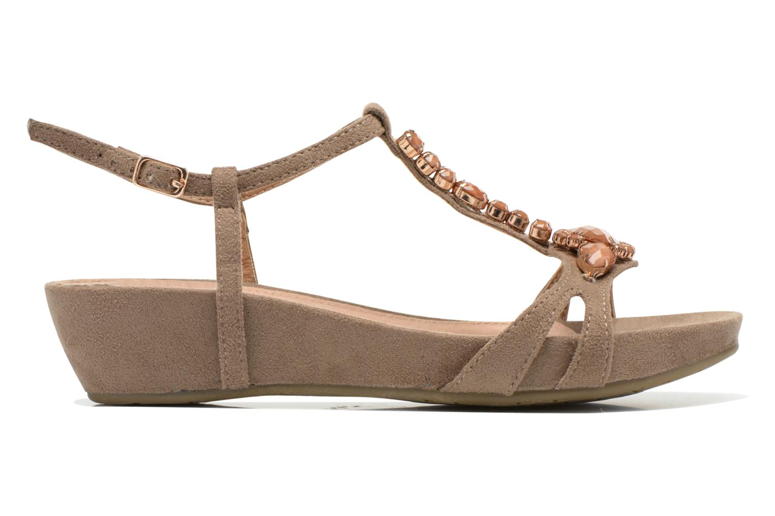 Sandals Xti Olbia Brown back view