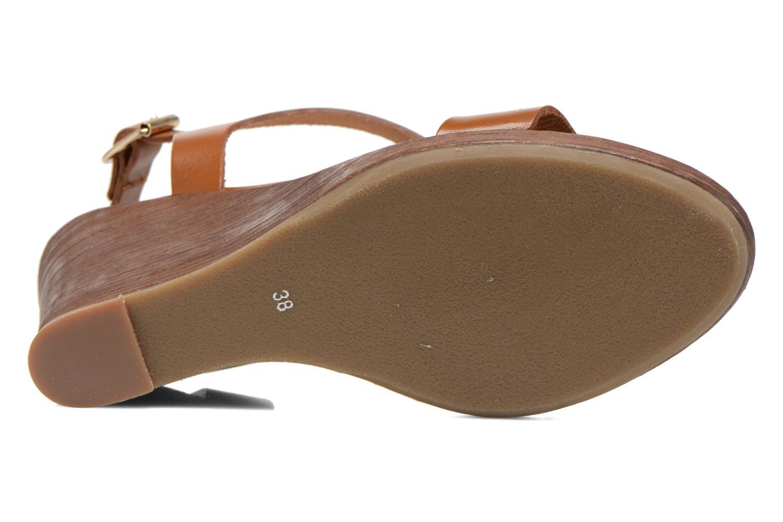 Sandales et nu-pieds Georgia Rose Ecarme Marron vue haut