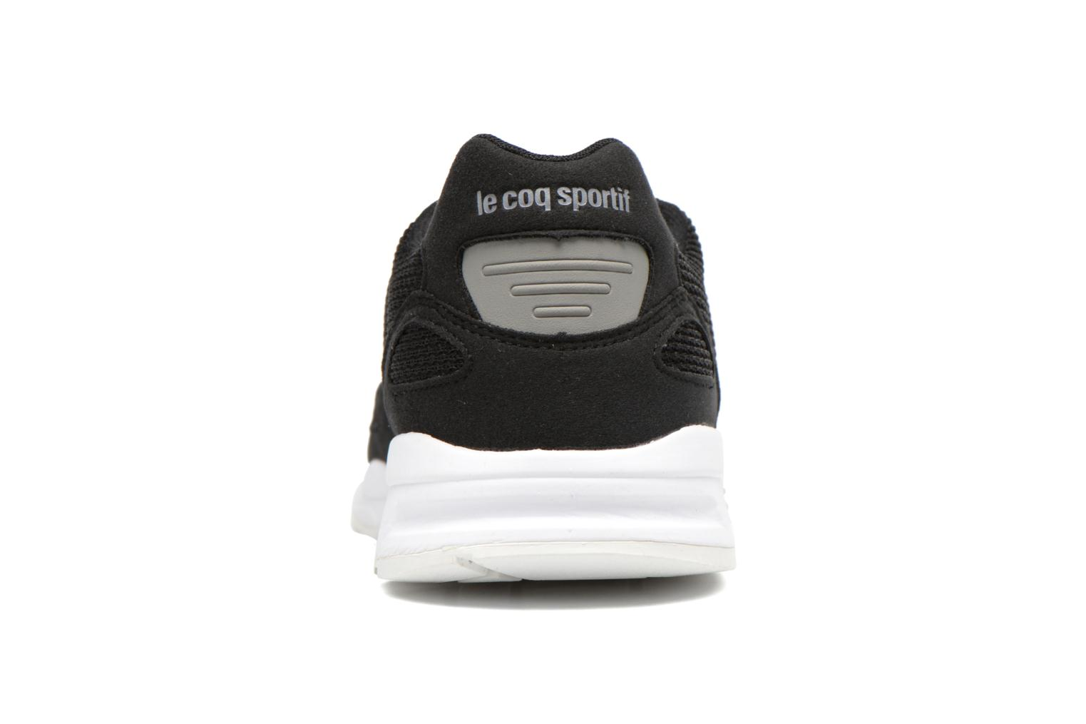 Trainers Le Coq Sportif LCS R900 Mesh 2 Tones Black view from the right