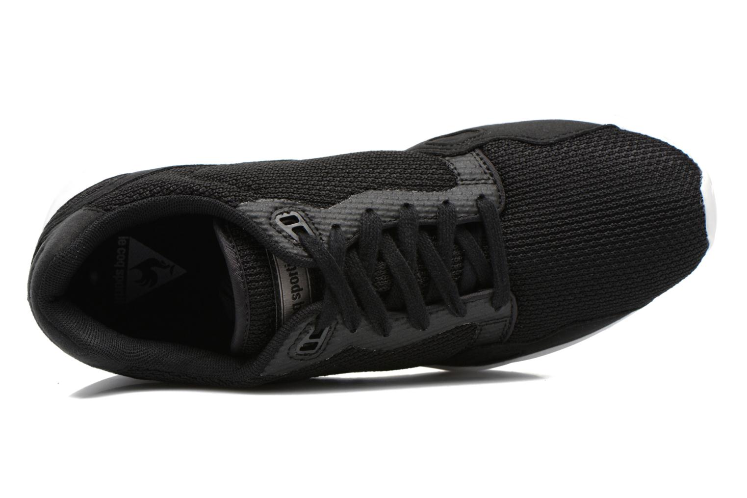Trainers Le Coq Sportif LCS R900 Mesh 2 Tones Black view from the left