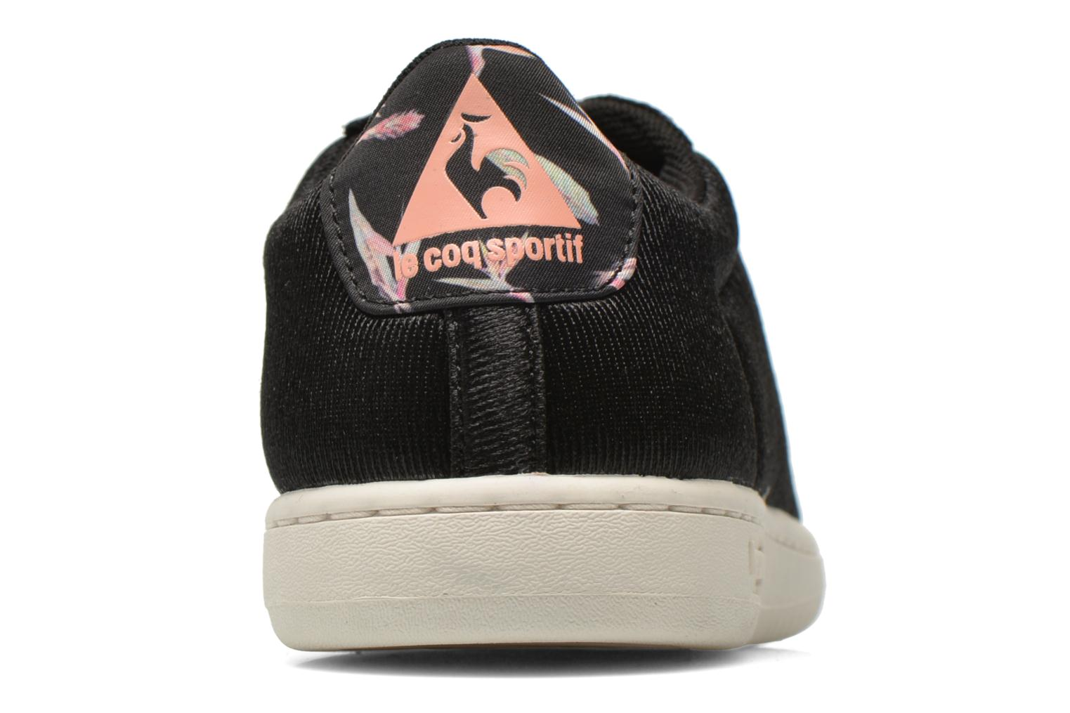Trainers Le Coq Sportif Arthur Ashe W Bird Of Paradise Black view from the right