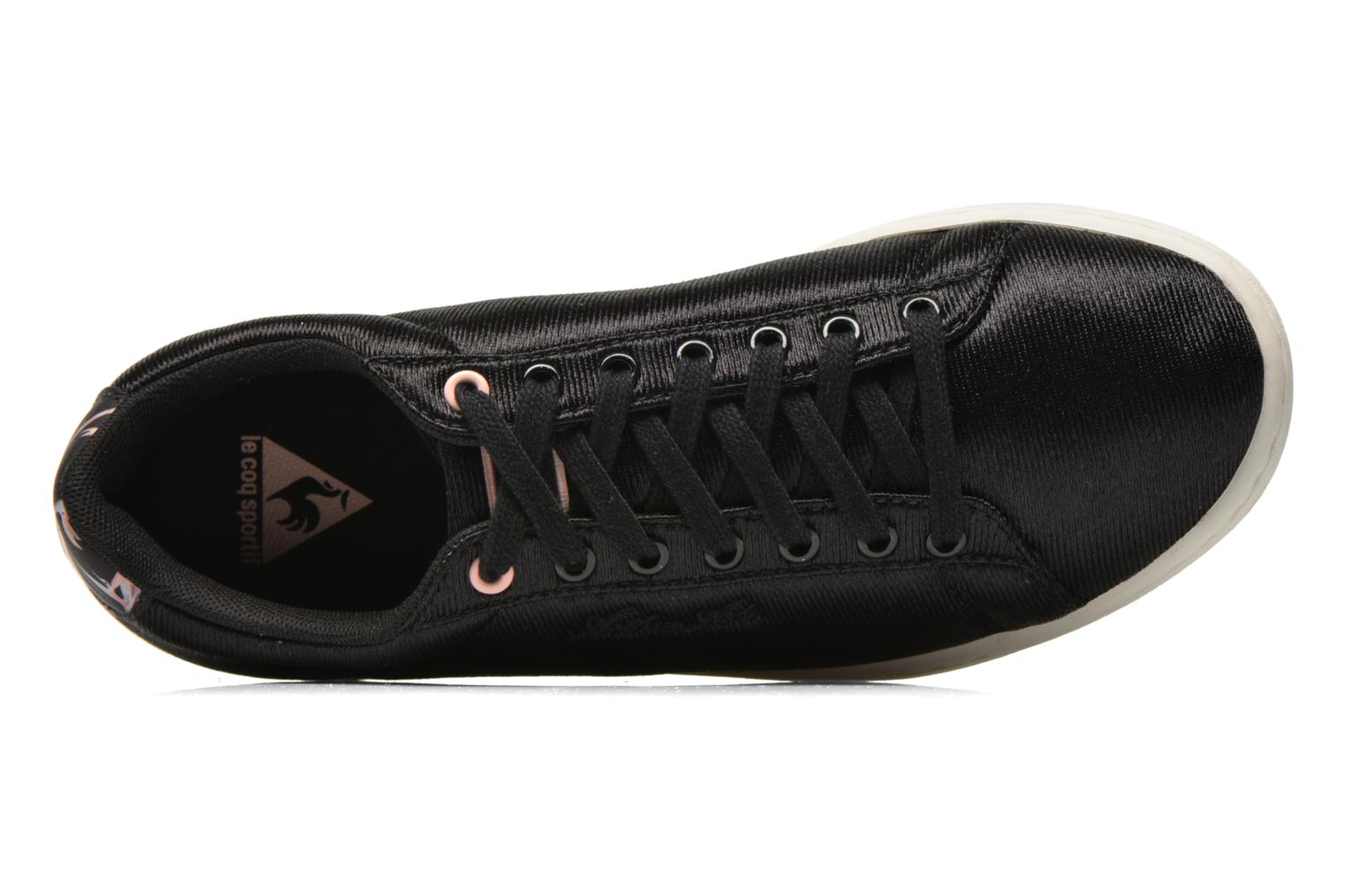 Trainers Le Coq Sportif Arthur Ashe W Bird Of Paradise Black view from the left