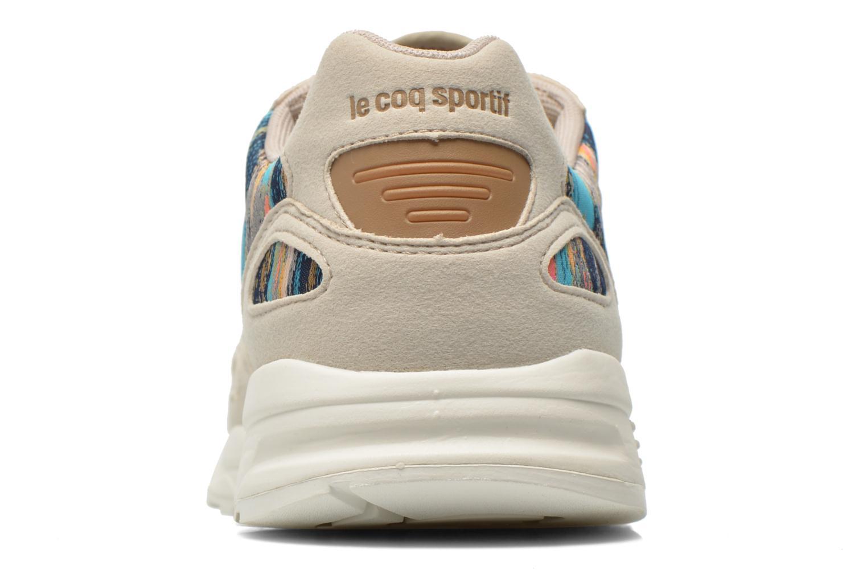 Baskets Le Coq Sportif LCS R900 W Cloud Jacquard Multicolore vue droite