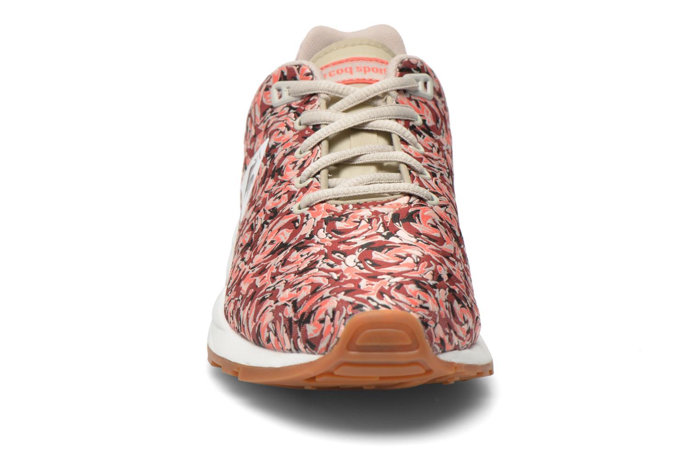 Sneaker Le Coq Sportif LCS R950 W Flower Jacquard mehrfarbig schuhe getragen