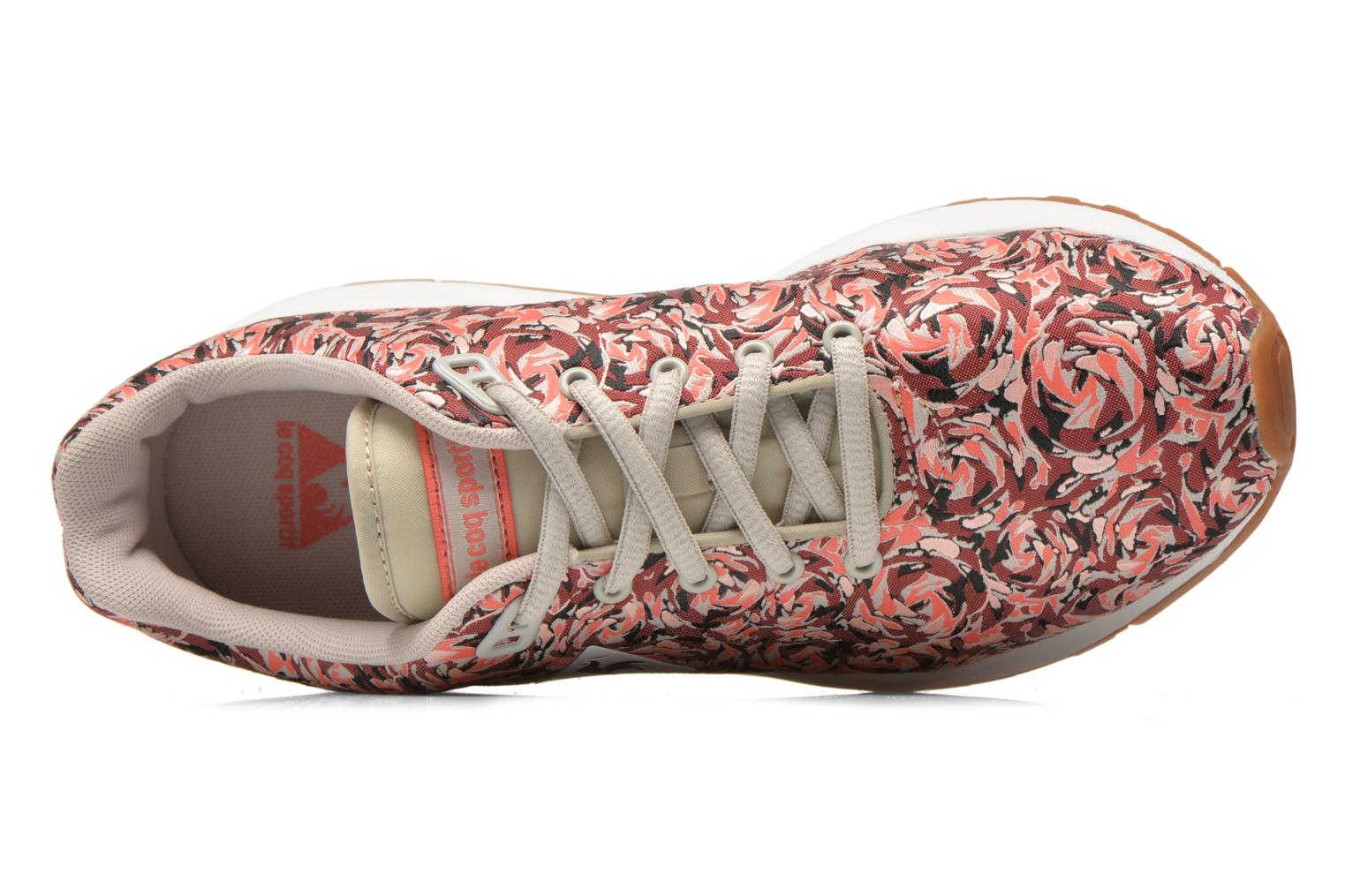 LCS R950 W Flower Jacquard Ruby Wine/Gray Morn