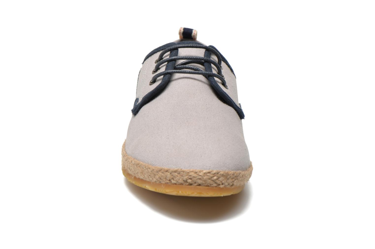 Lace-up shoes Schmoove Venice Side Soft Canvas Grey model view
