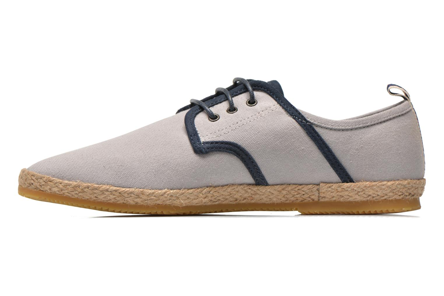 Lace-up shoes Schmoove Venice Side Soft Canvas Grey front view