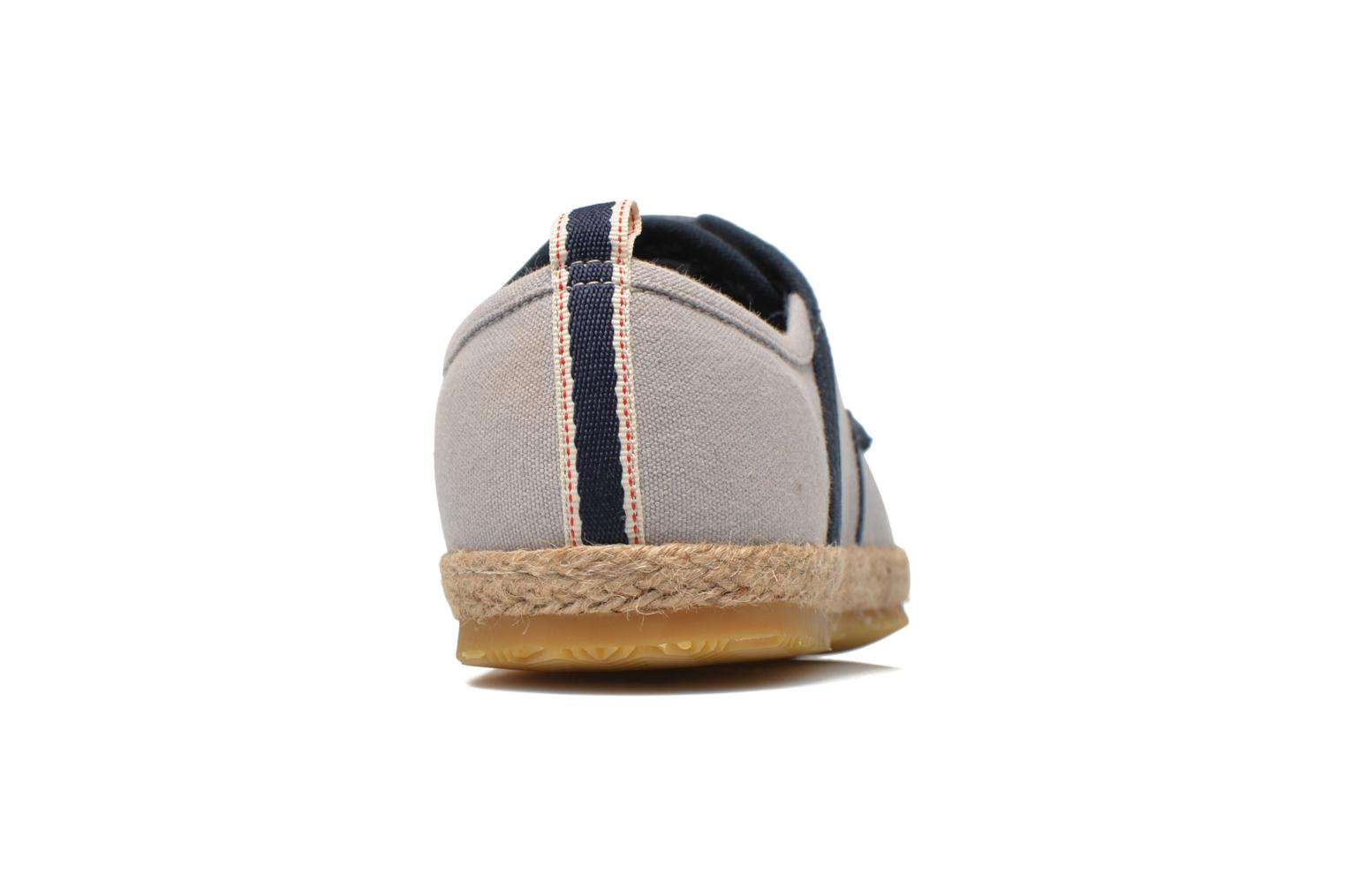 Lace-up shoes Schmoove Venice Side Soft Canvas Grey view from the right