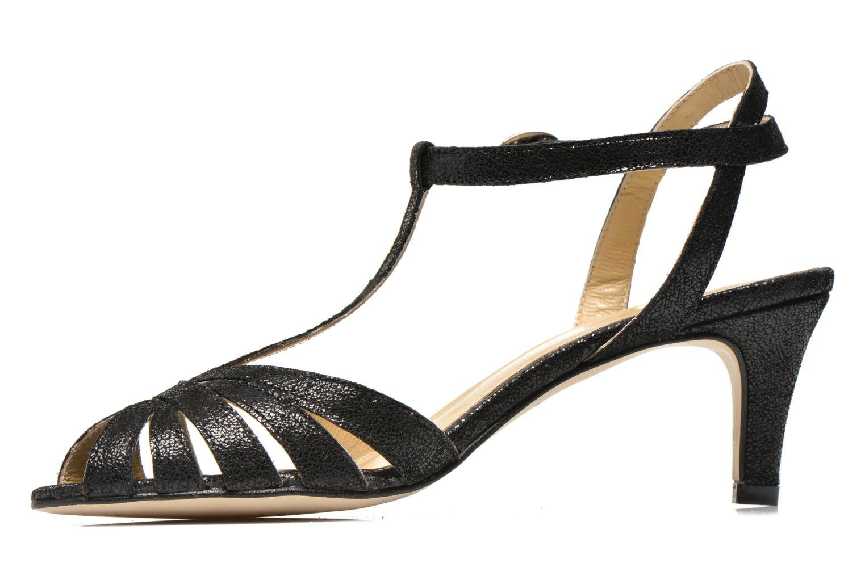 Sandales et nu-pieds Jonak Doliate Noir vue face