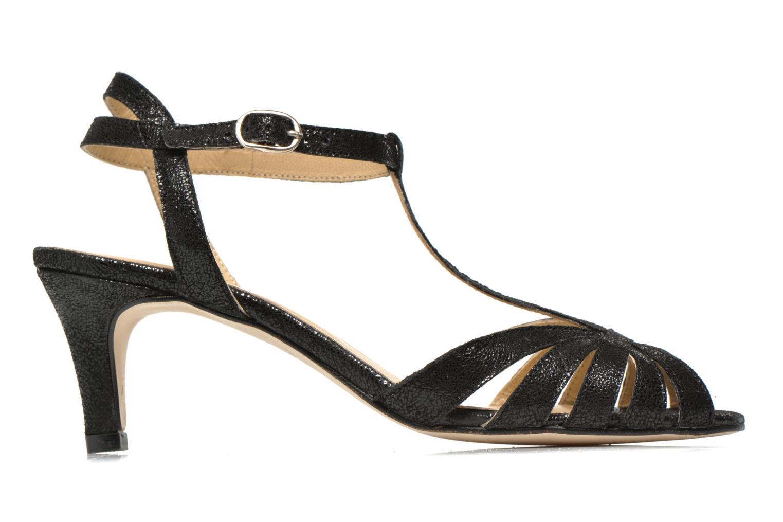 Sandales et nu-pieds Jonak Doliate Noir vue derrière