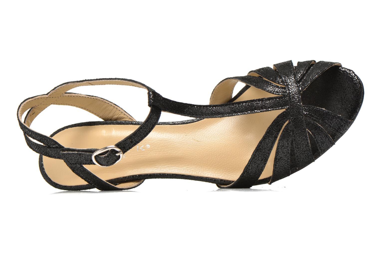 Sandales et nu-pieds Jonak Doliate Noir vue gauche