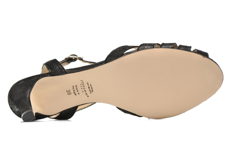 Sandales et nu-pieds Jonak Doliate Noir vue haut
