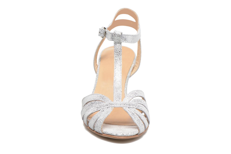 Sandales et nu-pieds Jonak Doliate Argent vue portées chaussures