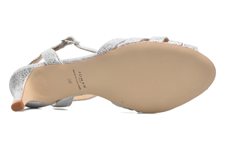 Sandales et nu-pieds Jonak Doliate Argent vue haut