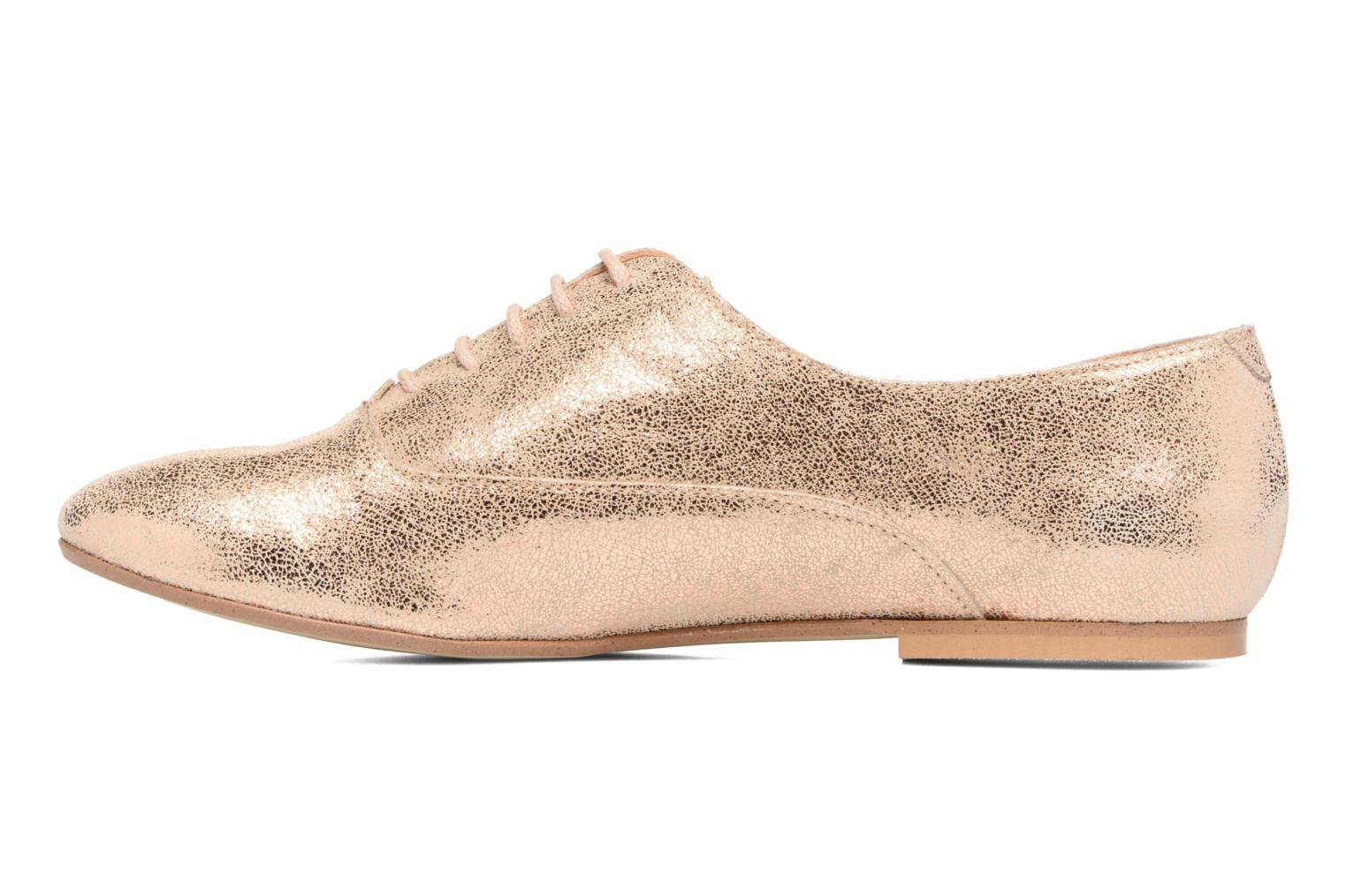 Lace-up shoes Jonak 2534 Bronze and Gold front view