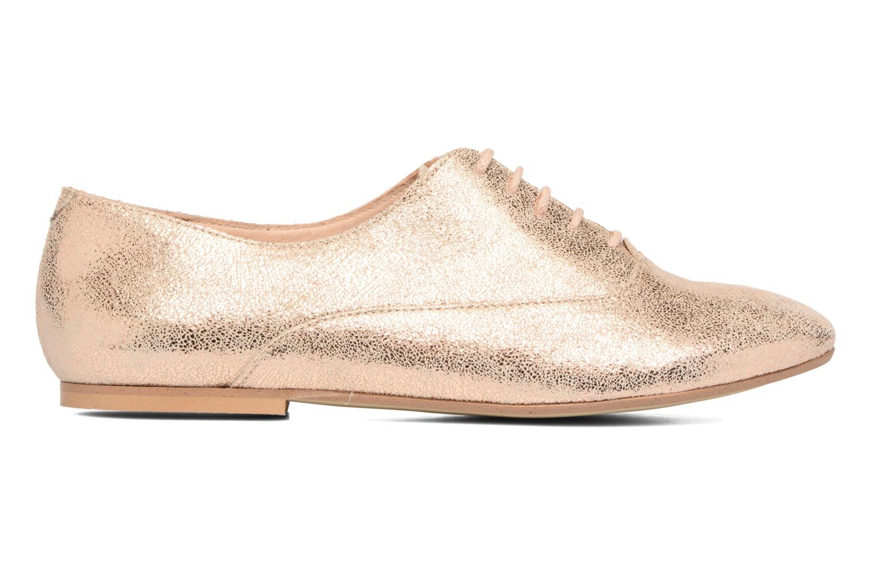 Chaussures à lacets Jonak 2534 Or et bronze vue derrière