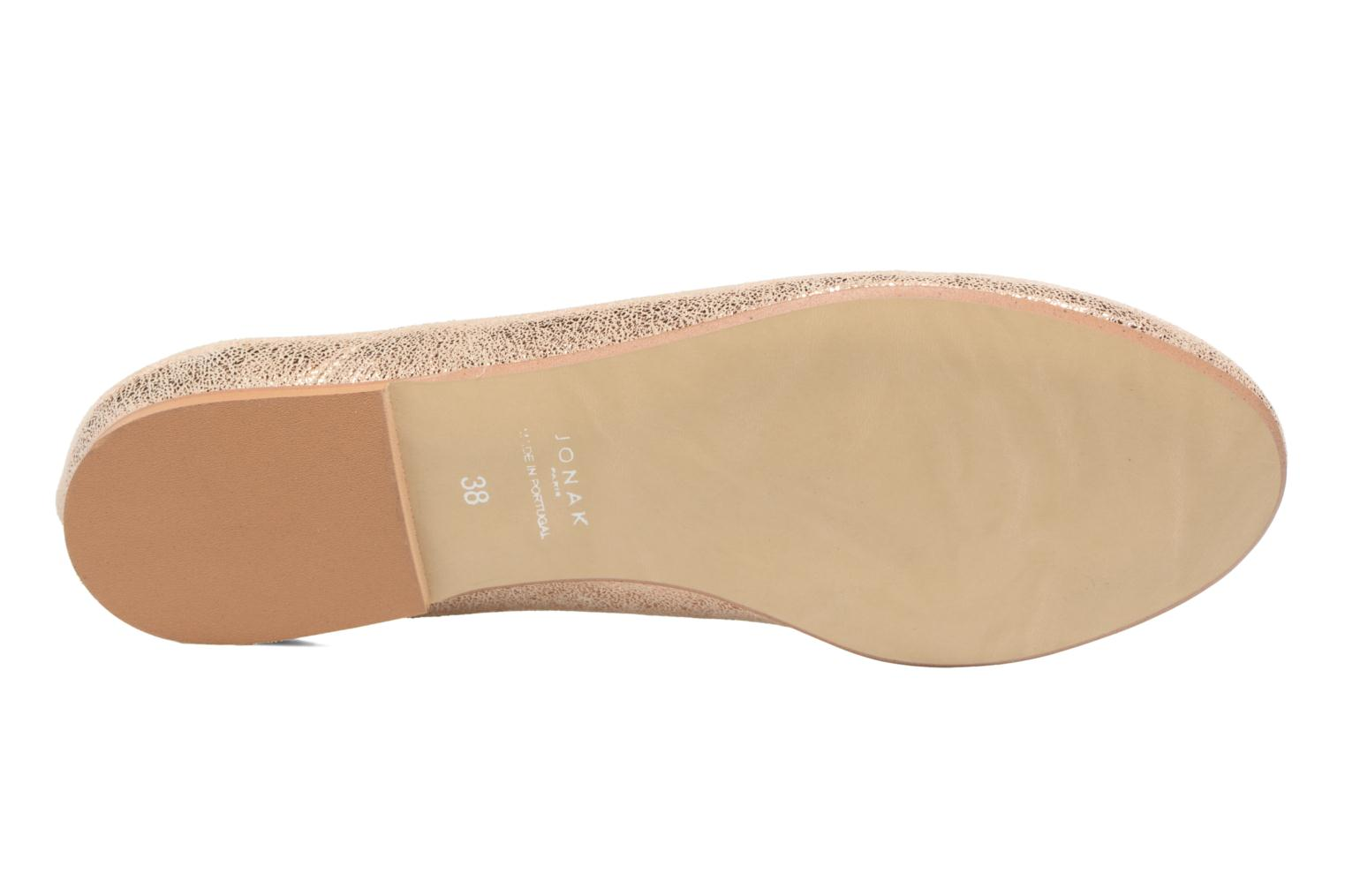 Lace-up shoes Jonak 2534 Bronze and Gold view from above