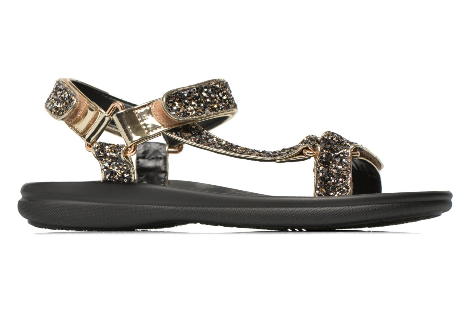 Sandals Blink Kuri Bronze and Gold back view