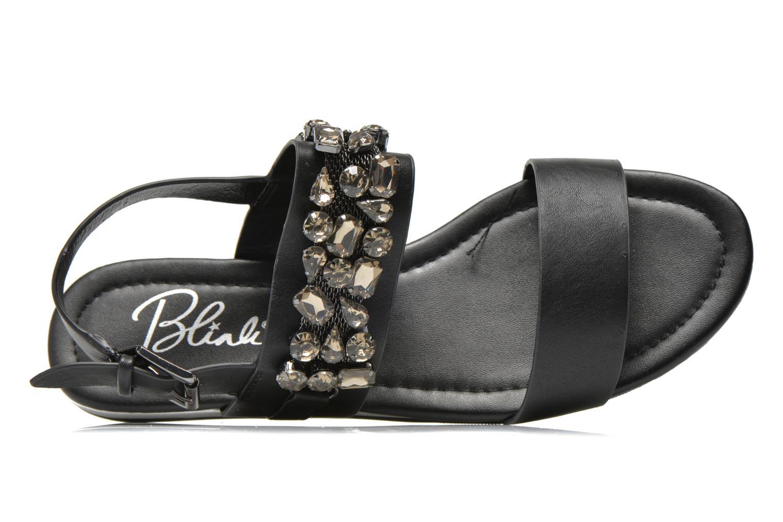 Sandales et nu-pieds Blink Mori Noir vue gauche